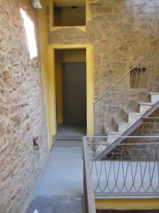 SM2 all'interno del centro storico di Bergamo
